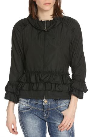 Куртка ERMANNO BY SCERVINO. Цвет: черный