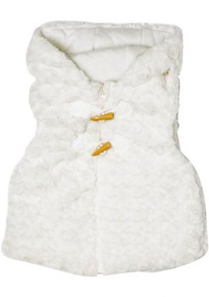 Жилет MINOTI. Цвет: белый (молочный)