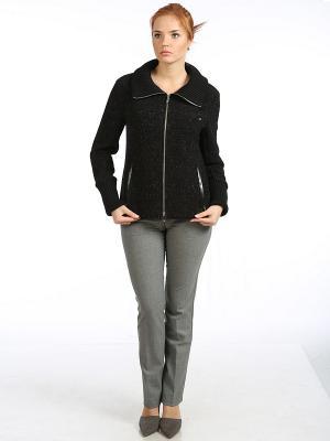 Куртка Stilla. Цвет: темно-коричневый