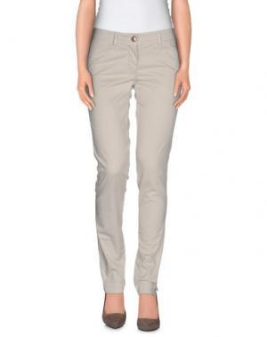 Повседневные брюки VERYSIMPLE. Цвет: бежевый