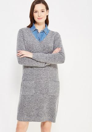 Платье s.Oliver. Цвет: серый