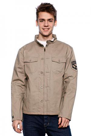 Ветровка мужская  Moto Jacket Natural Dekline. Цвет: бежевый