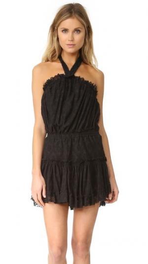 Платье Desa MISA. Цвет: черный ацтекский