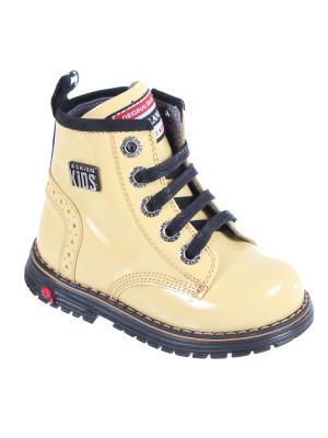Ботинки TIFLANI. Цвет: желтый