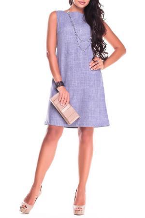 Платье-сарафан Laura Bettini. Цвет: фиолетовая дымка