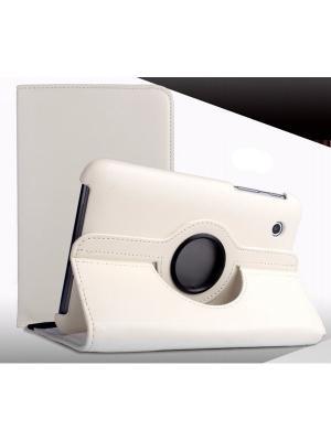 Обложка skinBOX rotation 360 для планшета Samsung P3100 (3110). Цвет: белый
