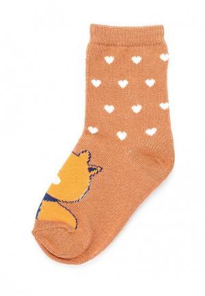 Носки Sela. Цвет: оранжевый