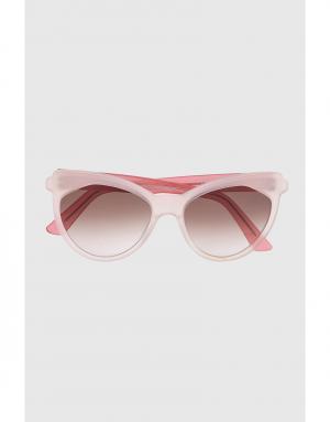 Солнцезащитные очки Erzulie Zanzan. Цвет: светло-розовый