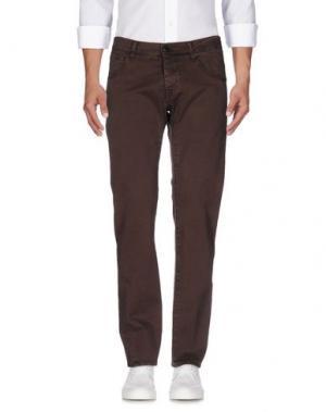Джинсовые брюки 2 MEN. Цвет: какао