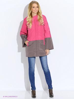 Пальто DOCTOR E. Цвет: розовый, светло-коричневый
