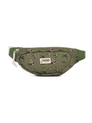 Сумка ЗАПОРОЖЕЦ Smaller Waist Bag. Цвет: зеленый,оливковый