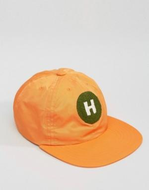 Maharishi Baseball Cap In Orange. Цвет: оранжевый