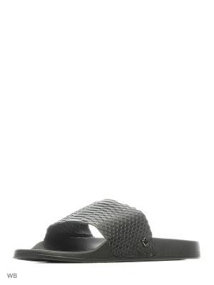 Шлепанцы ортопедические ZET. Цвет: черный