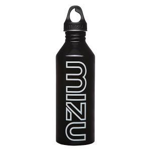 Бутылка для воды  M8 800ml Glossy Black Gitd Print Mizu. Цвет: черный
