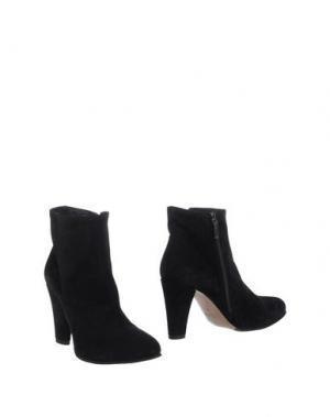 Полусапоги и высокие ботинки LENA MILOS. Цвет: черный