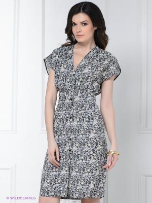Платье Levall. Цвет: серый, черный