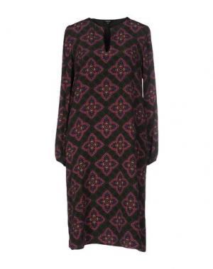 Короткое платье RAOUL. Цвет: темно-зеленый
