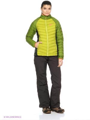 Куртка ZENON BASIC SNAP-IN JKT W Jack Wolfskin. Цвет: зеленый