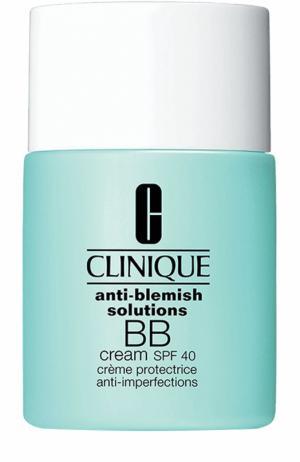 Многофункциональный корректирующий BB-крем для проблемной кожи SPF 40, оттенок 01 Clinique. Цвет: бесцветный