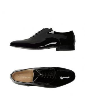 Обувь на шнурках LEONARDO PRINCIPI. Цвет: черный