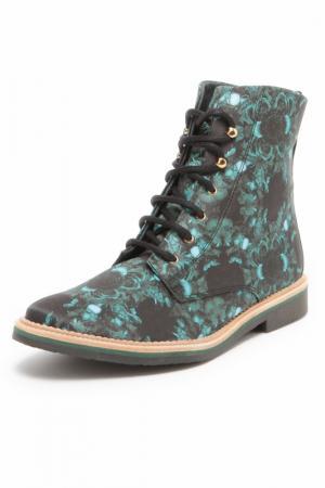 Ботинки MIISTA. Цвет: мультицвет