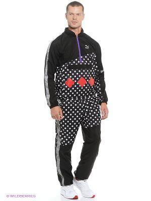 Куртка ALife ARC Savanah Puma. Цвет: черный, белый, красный