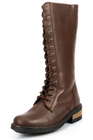 High boots PEPERONI. Цвет: dark brown
