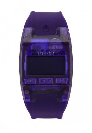 Часы Nixon. Цвет: фиолетовый