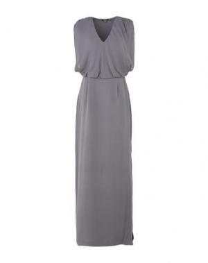 Длинное платье RAOUL. Цвет: серый