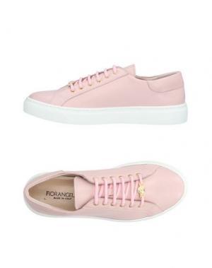 Низкие кеды и кроссовки FIORANGELO. Цвет: розовый