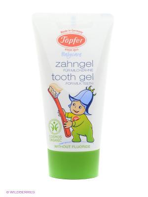 Детская зубная паста для молочных зубов Topfer. Цвет: белый