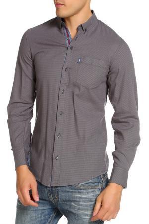 Рубашка LE SHARK. Цвет: серый