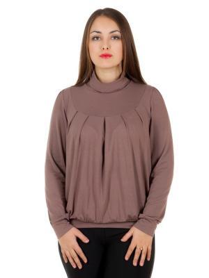Блузка Faq market. Цвет: светло-коричневый, бежевый