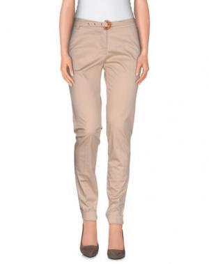 Повседневные брюки CRISTINAEFFE COLLECTION. Цвет: бежевый