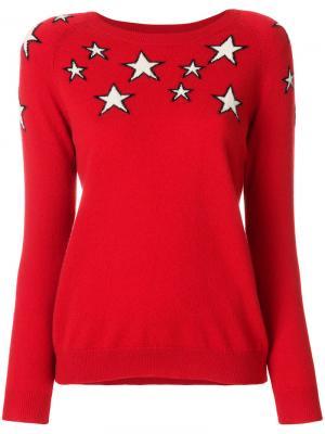Джемпер Stardust Chinti & Parker. Цвет: красный