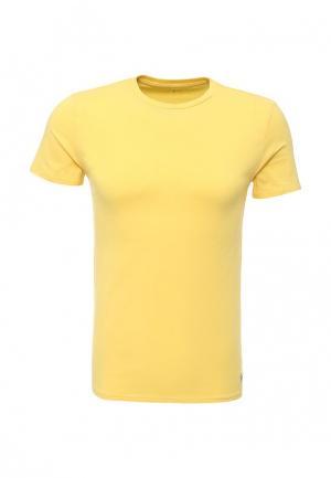 Футболка Polo Ralph Lauren. Цвет: желтый