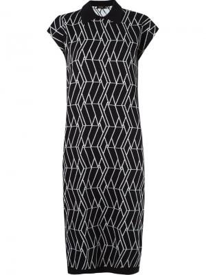 Mid-length knit dress Gig. Цвет: чёрный