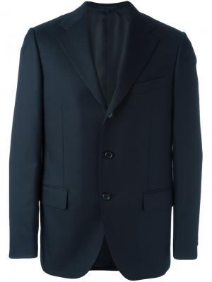 Buttoned single breasted blazer Al Duca D'Aosta 1902. Цвет: чёрный