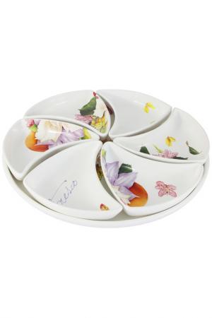 Набор для закуски Фреско Ceramiche Viva. Цвет: мультиколор