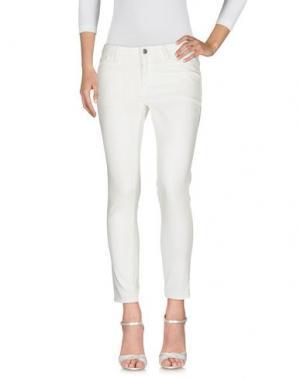 Джинсовые брюки BELSTAFF. Цвет: белый