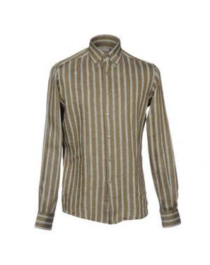 Pубашка INGRAM. Цвет: темно-зеленый