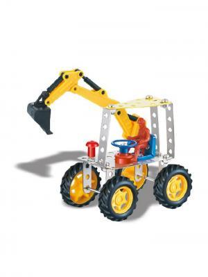Урок труда Собираем Трактор с ковшом Склад Уникальных Товаров. Цвет: желтый