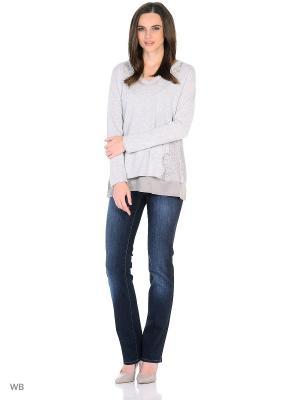 Пуловер Oltre. Цвет: серый