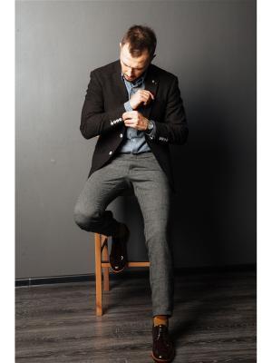 Пиджак COREY FILDMAN. Цвет: темно-коричневый