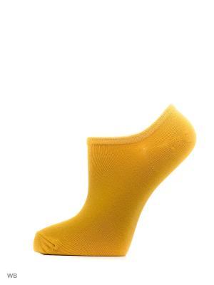 Носки Befree. Цвет: желтый
