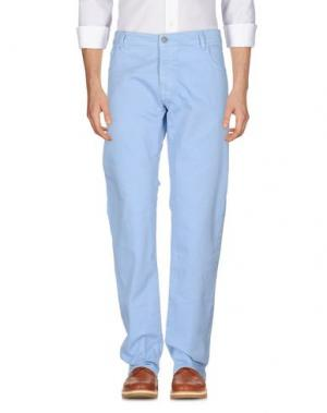 Повседневные брюки NEW ENGLAND. Цвет: небесно-голубой