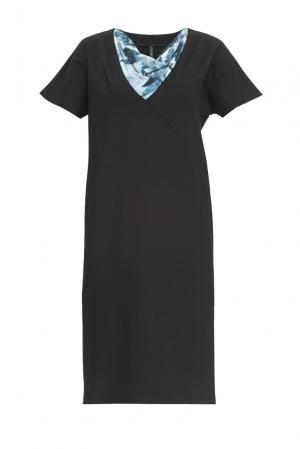 Трикотажное платье 162787 Firkant. Цвет: черный