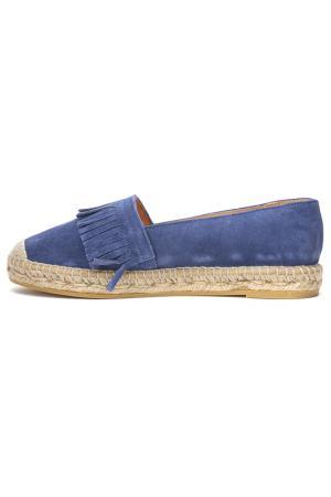 Туфли DERIMOD. Цвет: синий