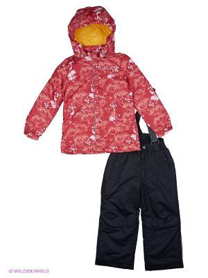 Комплект одежды REIKE. Цвет: черный, красный, желтый