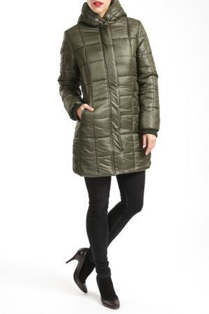 Пальто CKN of scandinavia. Цвет: зеленый